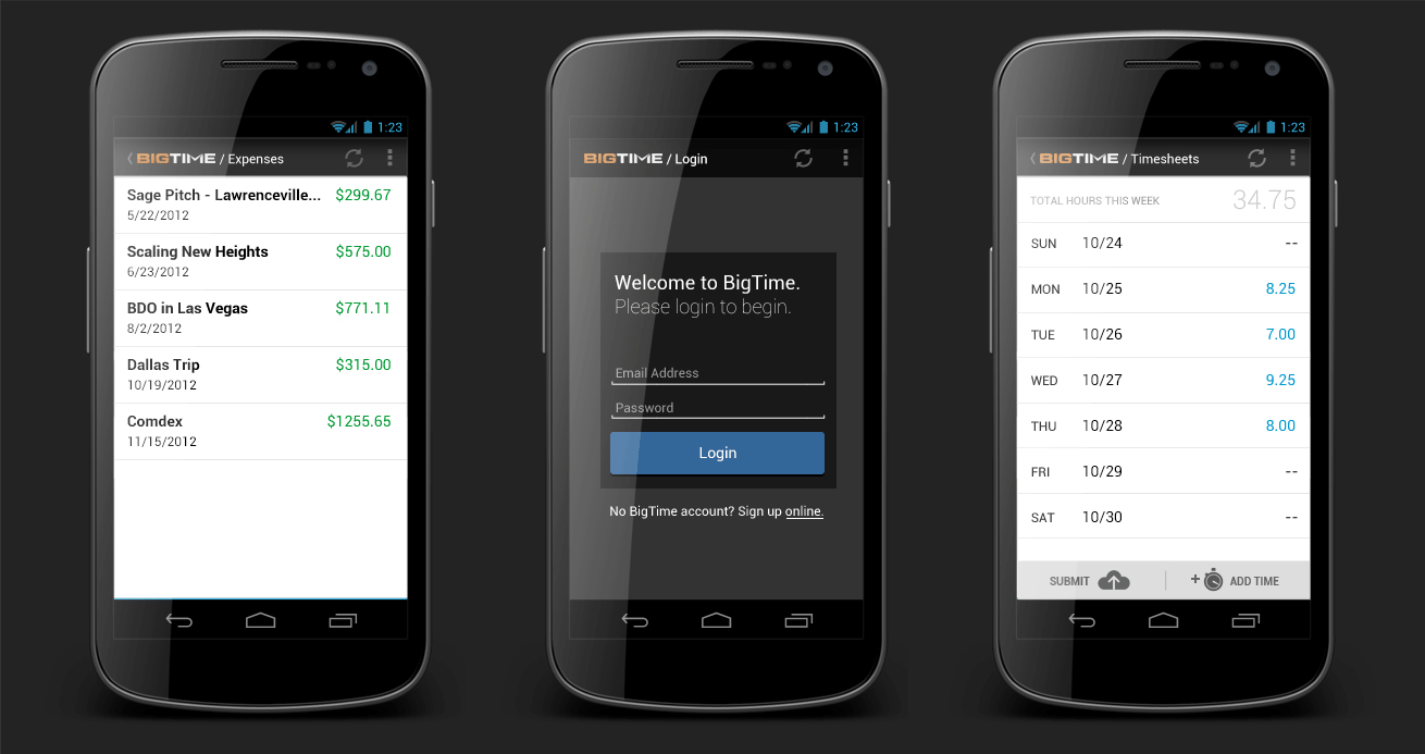 android timesheet app 2