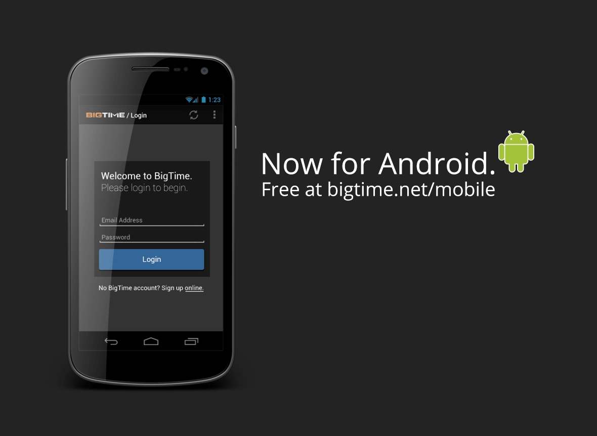 timesheet app for android release
